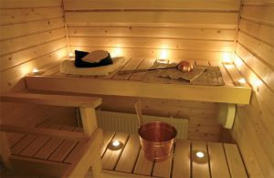 Mała sauna domowa to coraz częstsze wyposażenie w wielu domach. © - Sandra Kemppainen - Fotolia